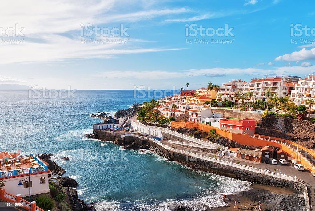 Puerto Santiago, Tenerife stock photo