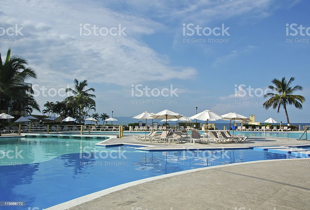 Puerto Vallarta Resort royalty-free stock photo