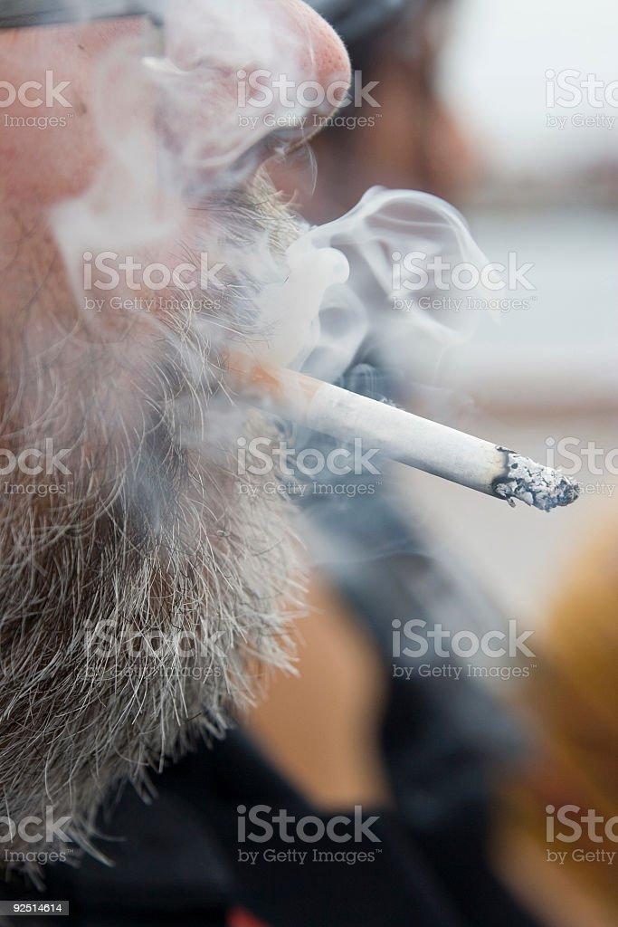 Puff 2 - smoke version stock photo