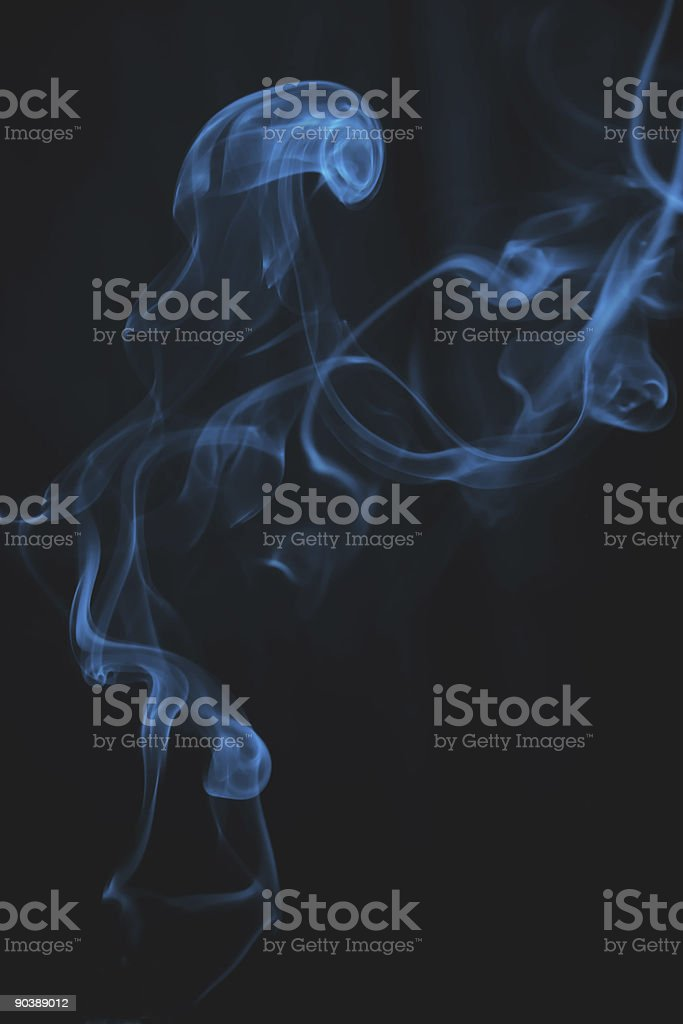 puff of cigarette royalty-free stock photo