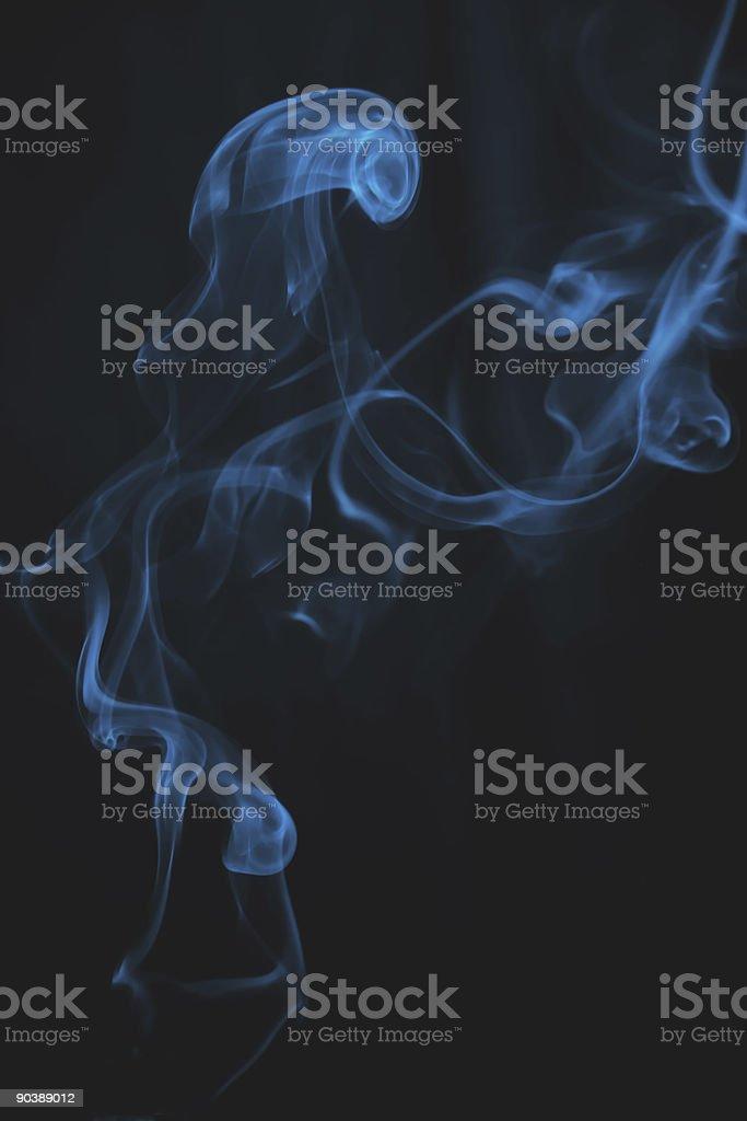 puff of cigarette stock photo