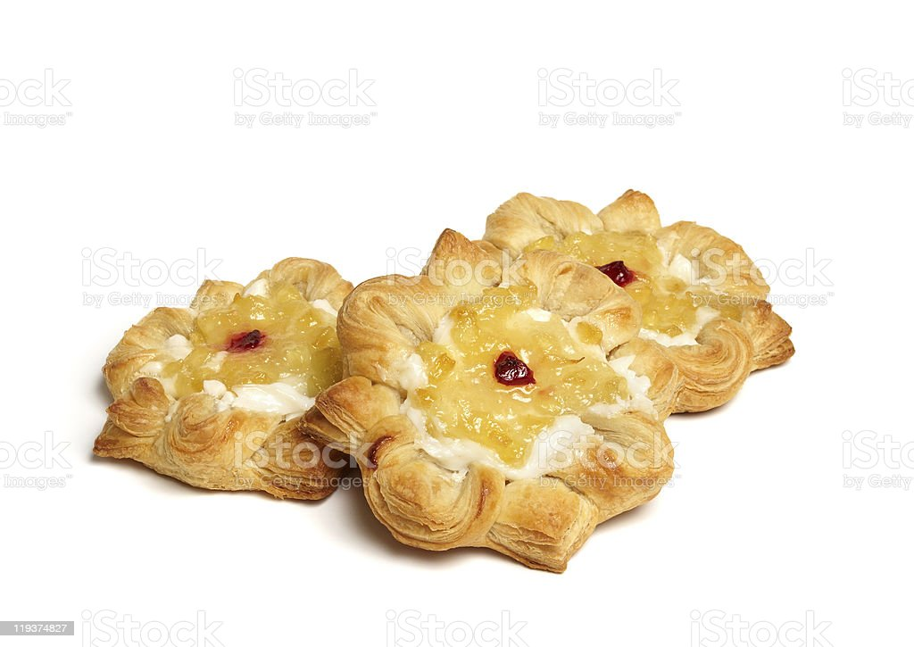 Puff pastry royalty-free stock photo