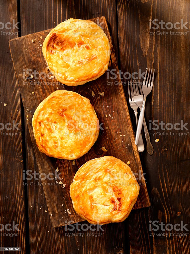 Puff Pastry Pot Pie's stock photo