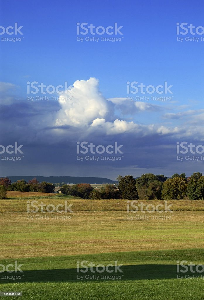 Puffy Cloud royalty-free stock photo