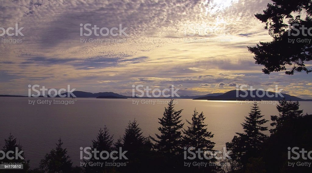 Puget Sound royalty-free stock photo