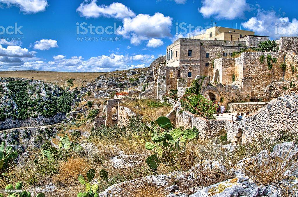 Puglia church hermitage Pulsano  Monte Sant Angelo - Foggia Gargano stock photo
