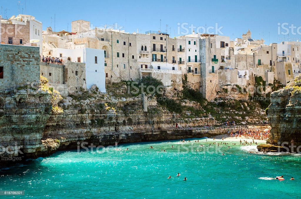 Puglia, Polignano a Mare stock photo
