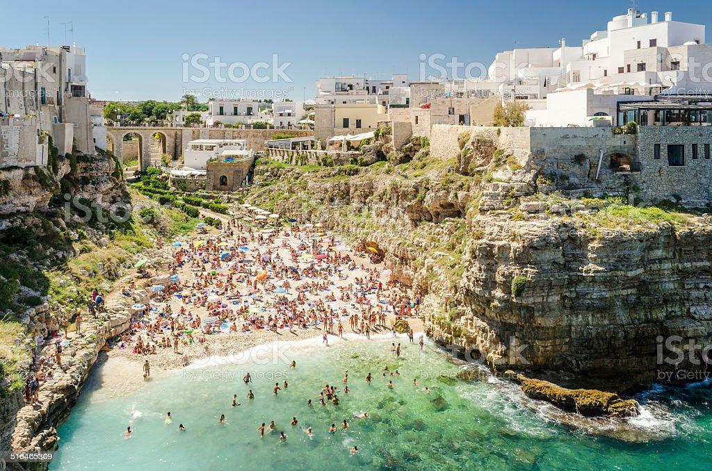 Puglia, Polignano a Mare stock photo