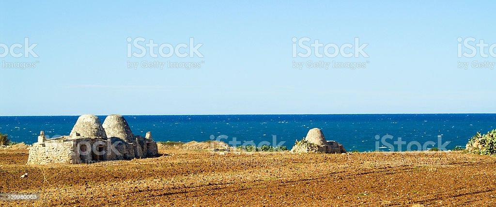 Puglia - South Italy Seascape royalty-free stock photo