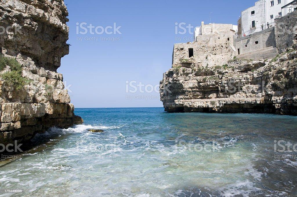Puglia summer time stock photo