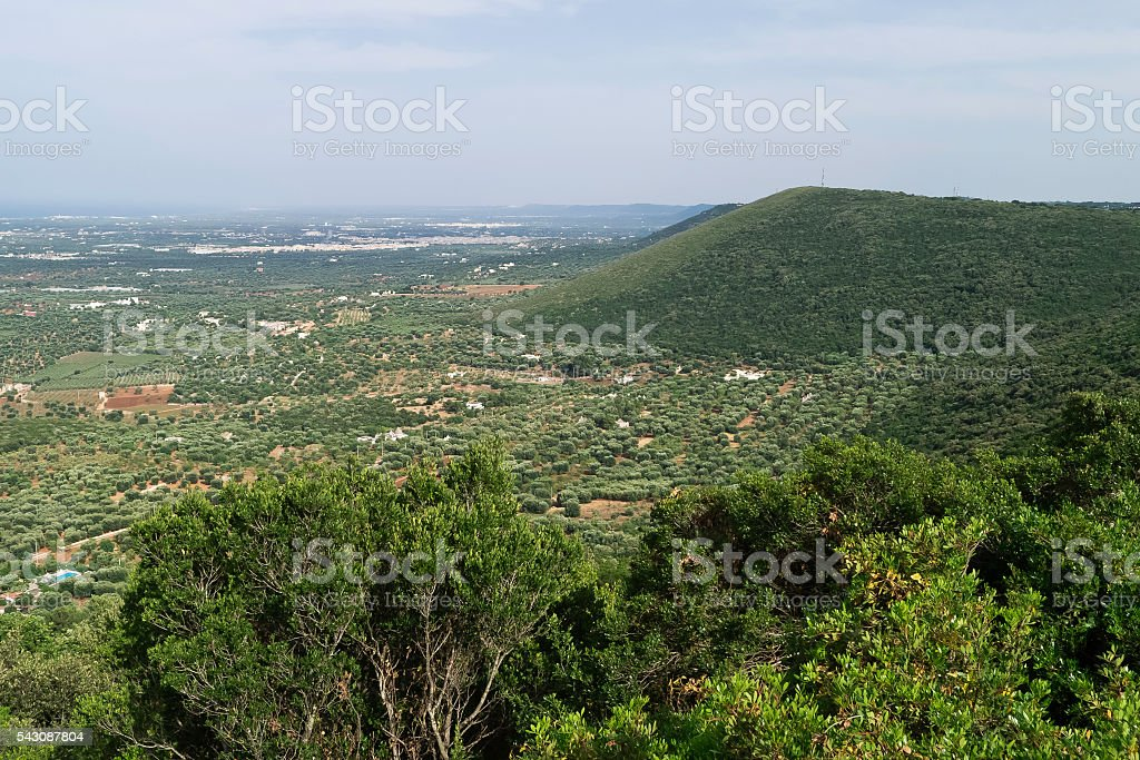 Puglia's landscapes . stock photo