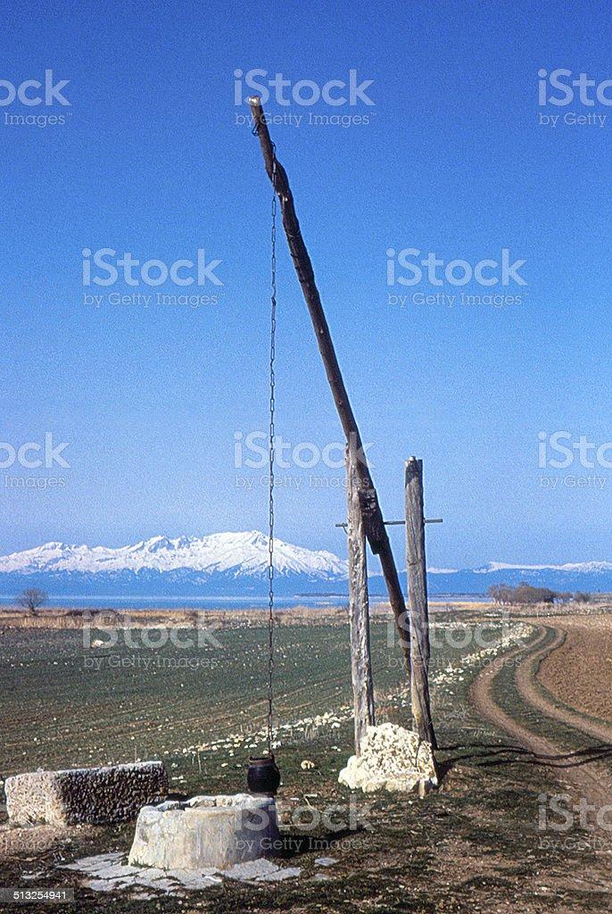 puit en Turquie stock photo