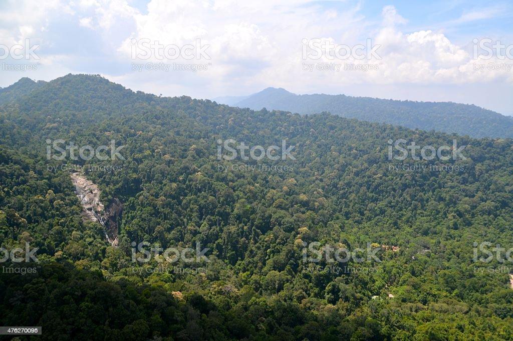 Pulau Langkawi landscape, Malaysia stock photo