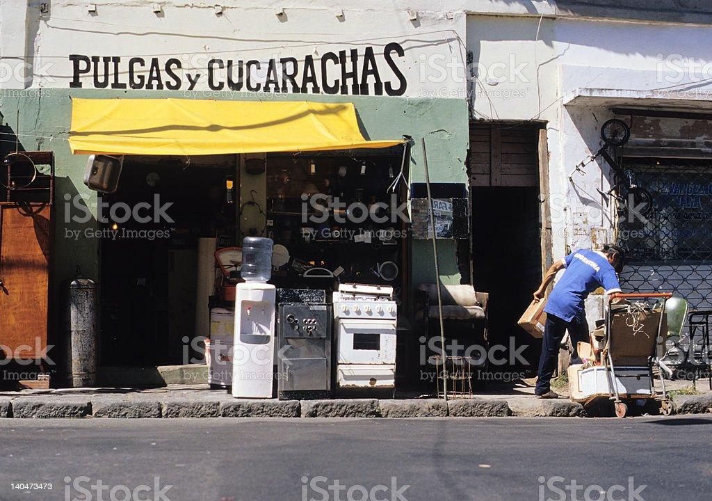 Pulgas & Cucarachas royalty-free stock photo