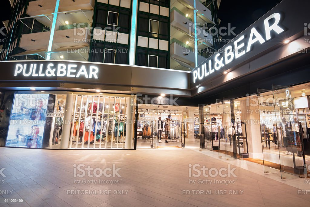 Pull & Bear store stock photo