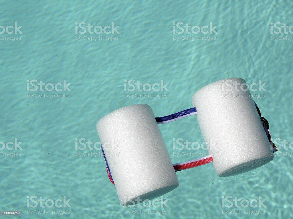 Pull Buoy - Swimming Equipment royalty-free stock photo