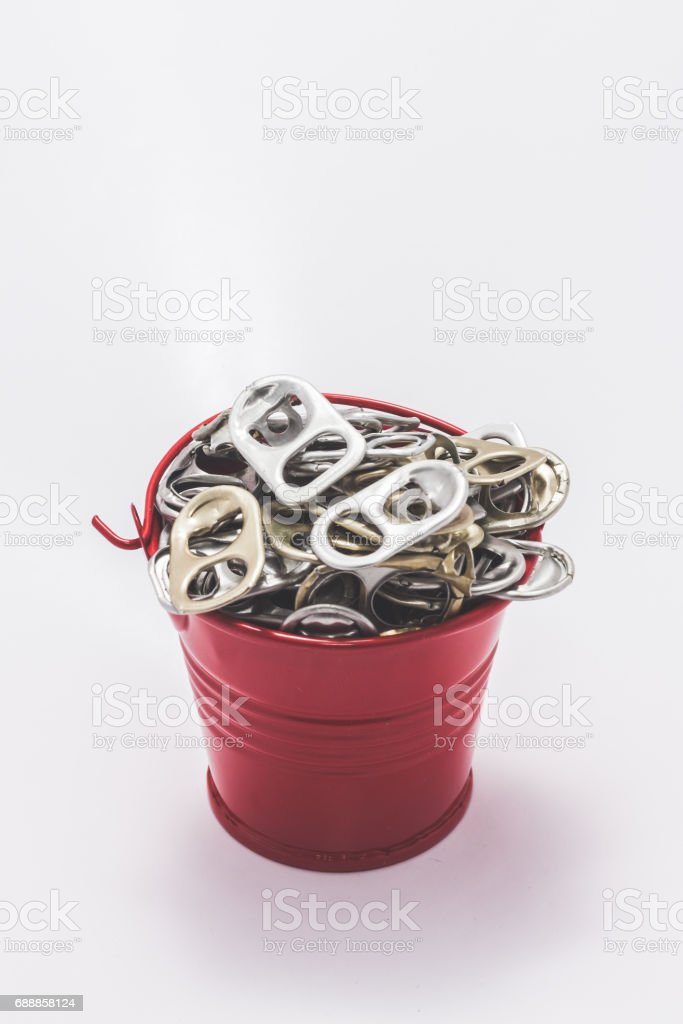 pull tab stock photo
