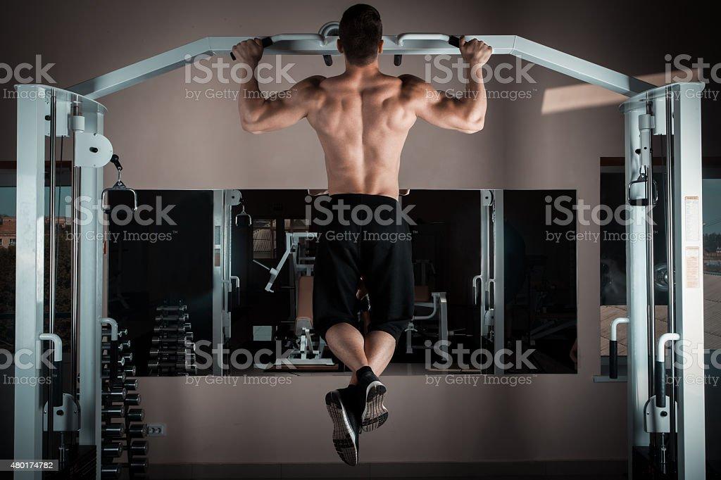 pull ups stock photo
