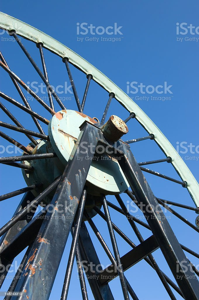 Pulley Wheel royalty-free stock photo