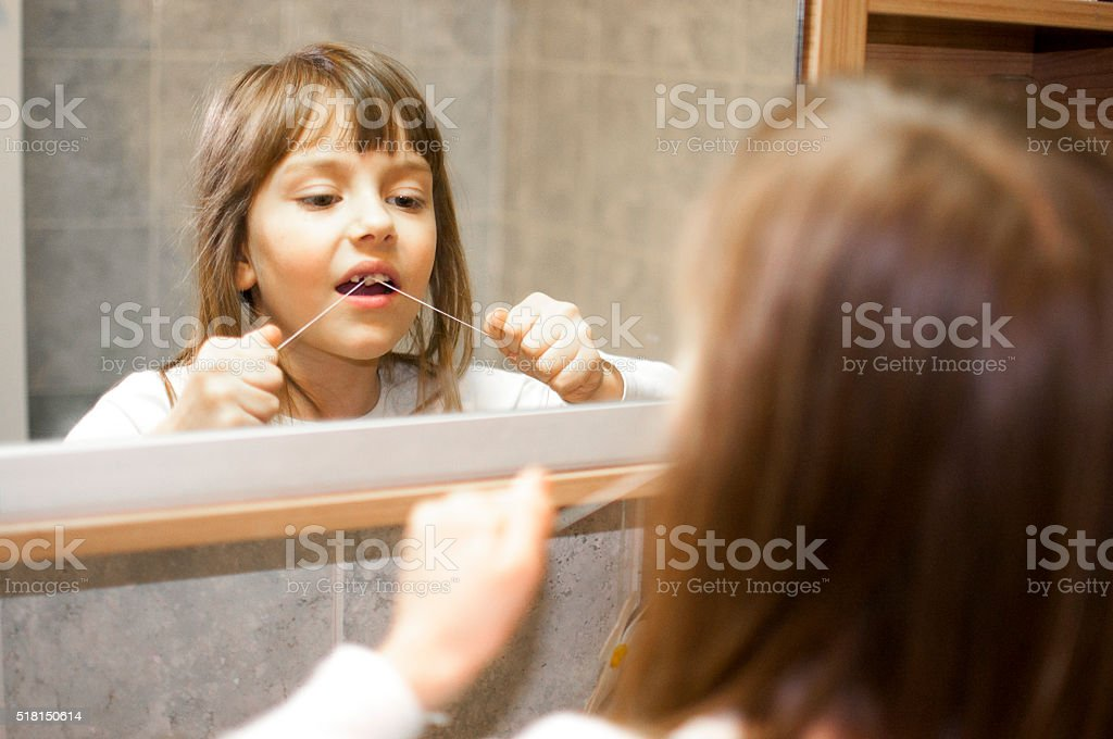 Pulling out a tooth stock photo