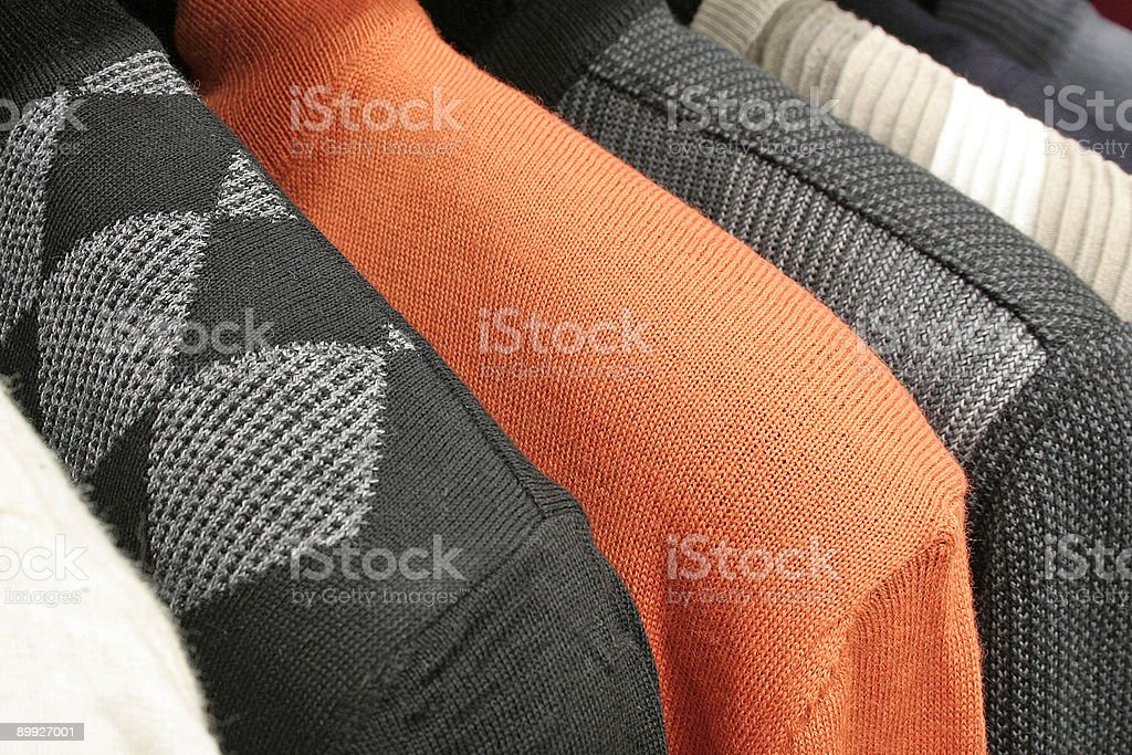 Pullovers royalty-free stock photo