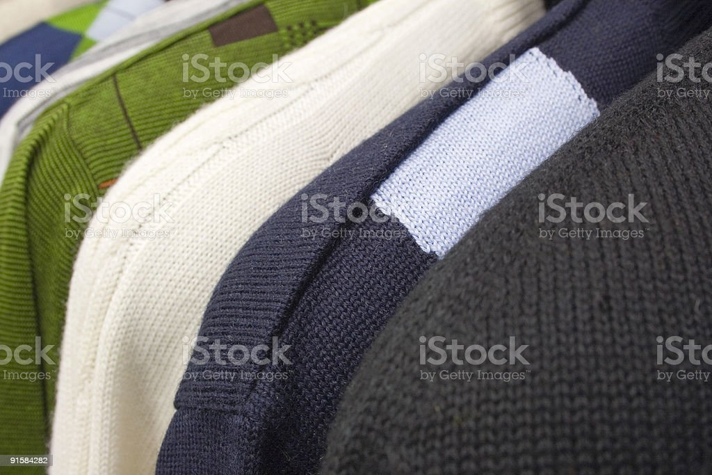 Pullovers stock photo