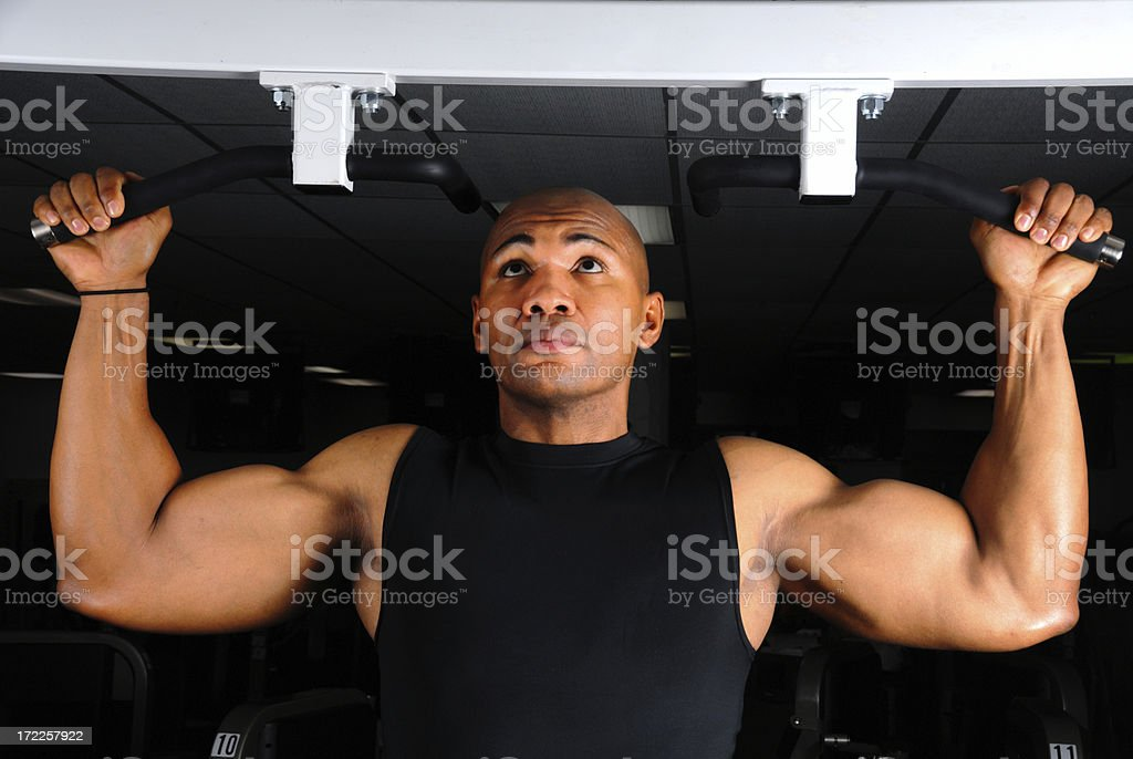 Pullups royalty-free stock photo