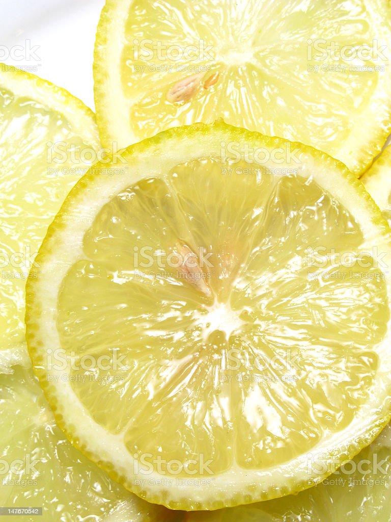 pulpa de limon royalty-free stock photo