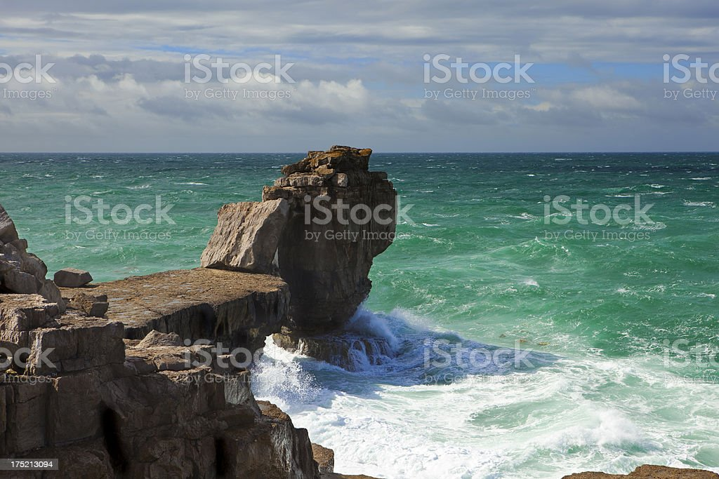 Pulpit Rock royalty-free stock photo