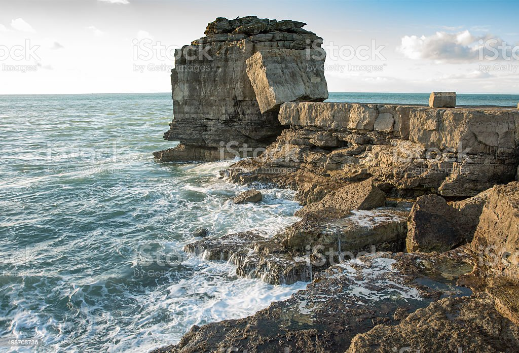 Pulpit Rock stock photo