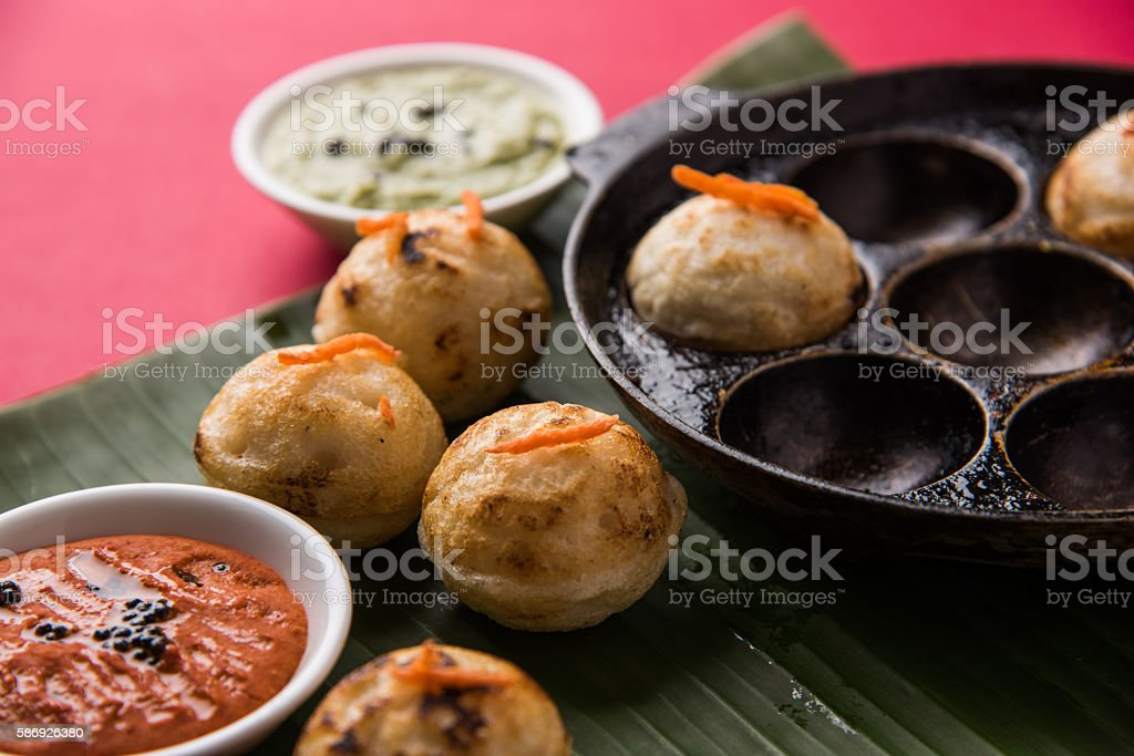 Pulse Appe or rice appe stock photo