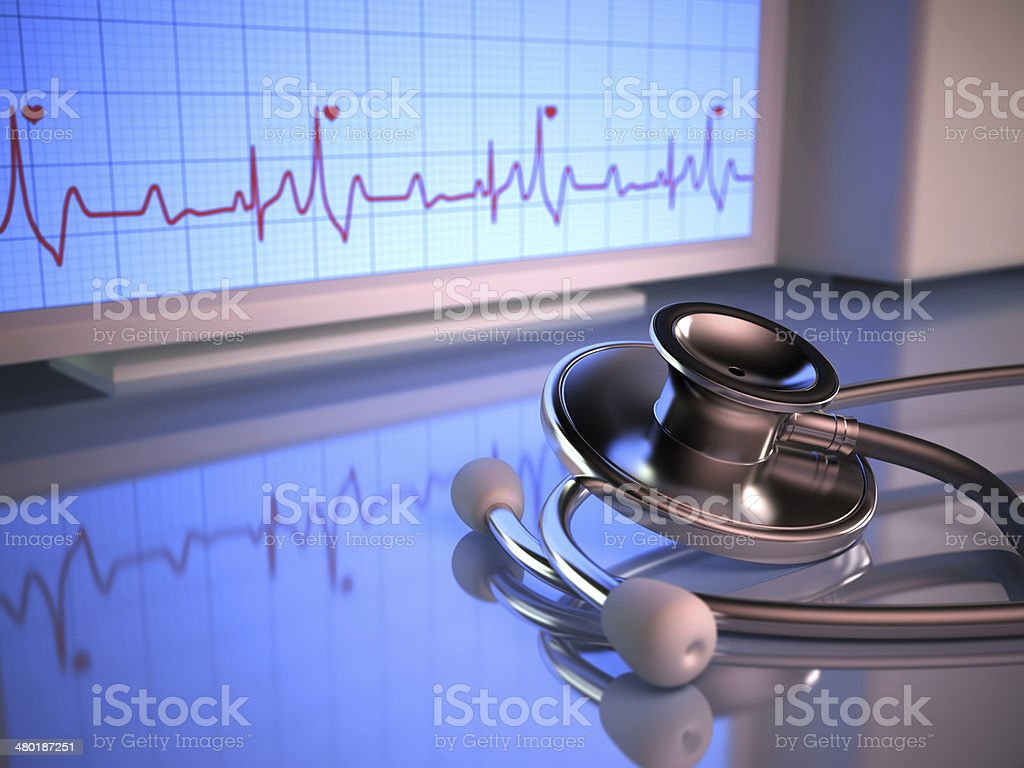 Pulse stock photo