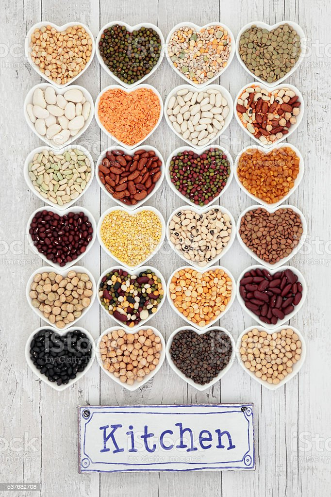 Pulses Selection stock photo