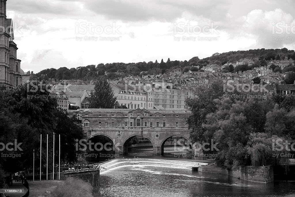 Pulteney Bridge stock photo