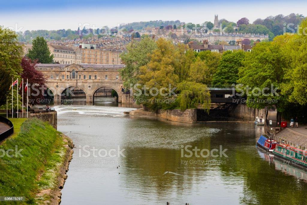 Pulteney Bridge,Bath, stock photo