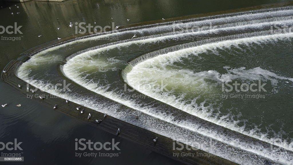 Pulteney Weir stock photo