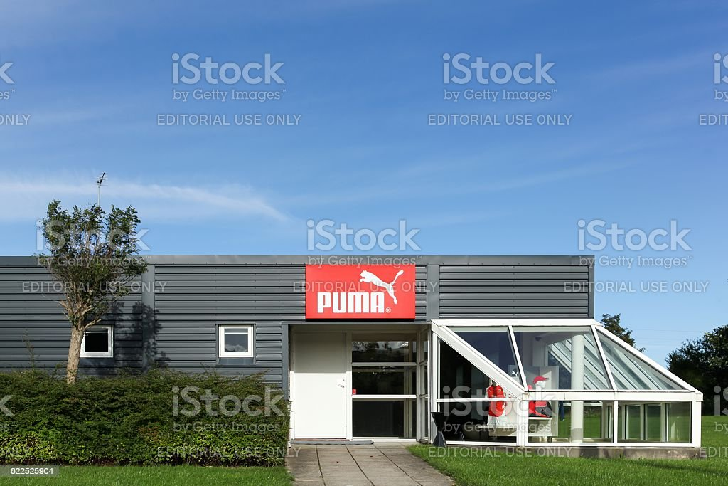 Puma building an office stock photo