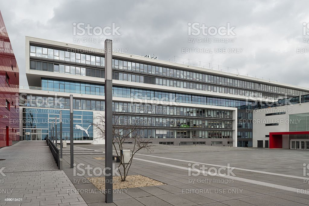 Puma, Headquarter, Herzogenaurach stock photo