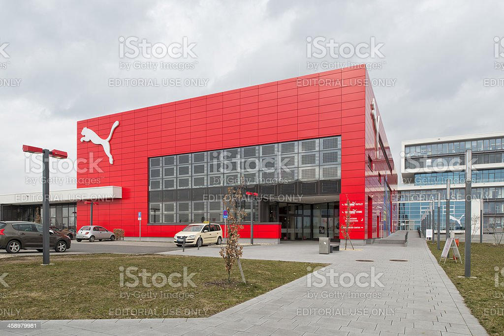 Puma, Outlet Store and Headquarter, Herzogenaurach stock photo