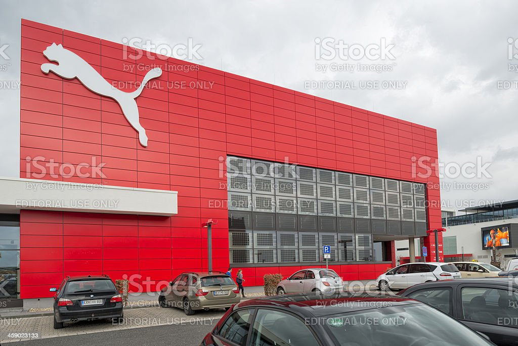 Puma, Outlet Store, Herzogenaurach stock photo