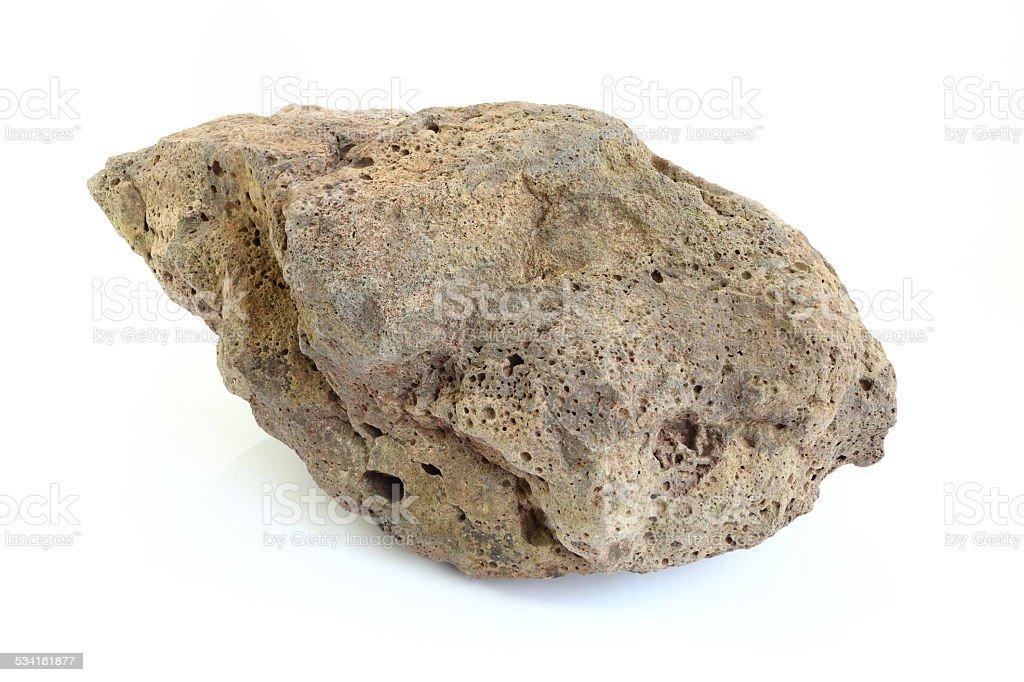 pumice stone of volcano stock photo