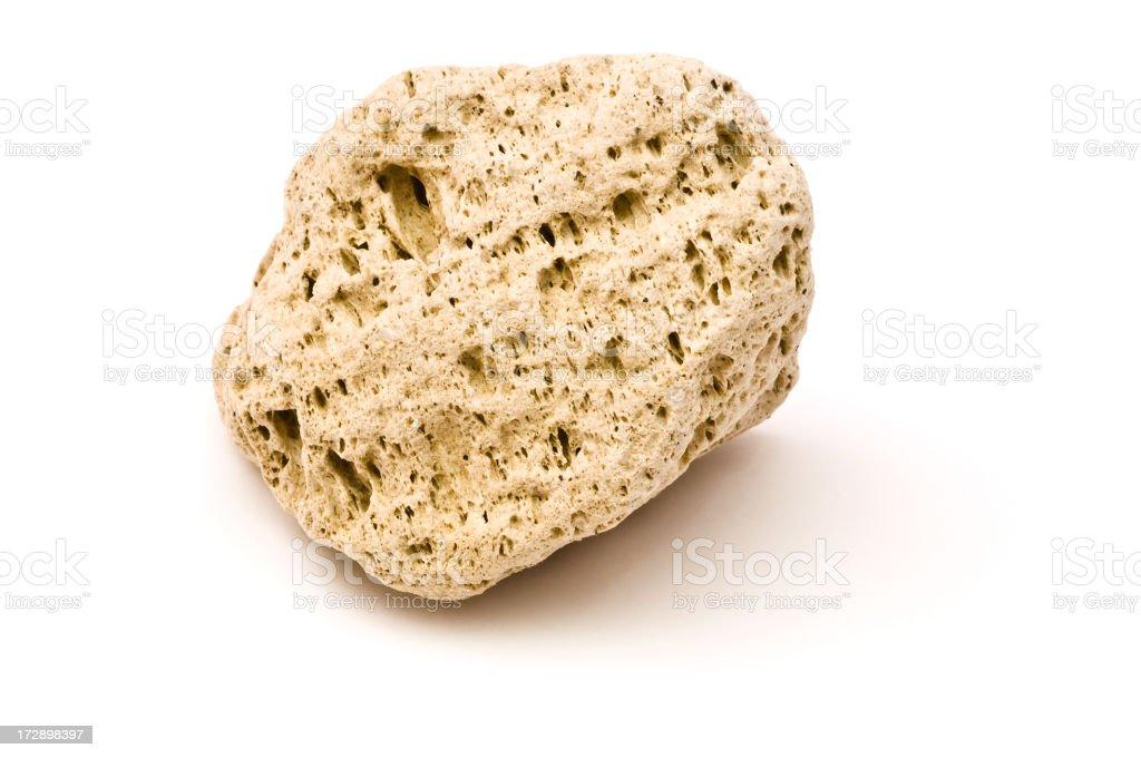 Pumice Stone stock photo