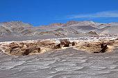 Pumice stones at Campo de Piedra Pomez, Catamarca, Argentina
