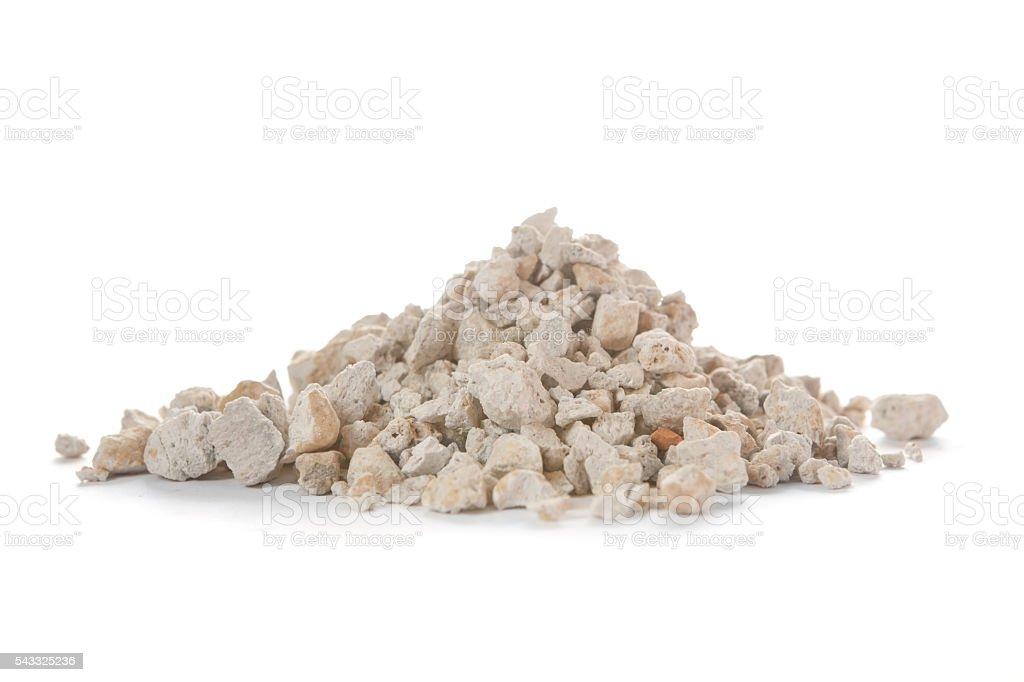 Pumise, a versatile volcanic rock stock photo