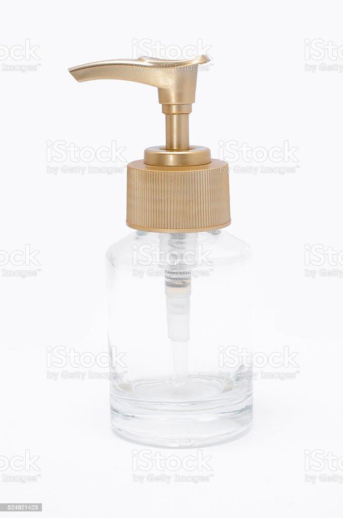 Pump bottle royalty-free stock photo