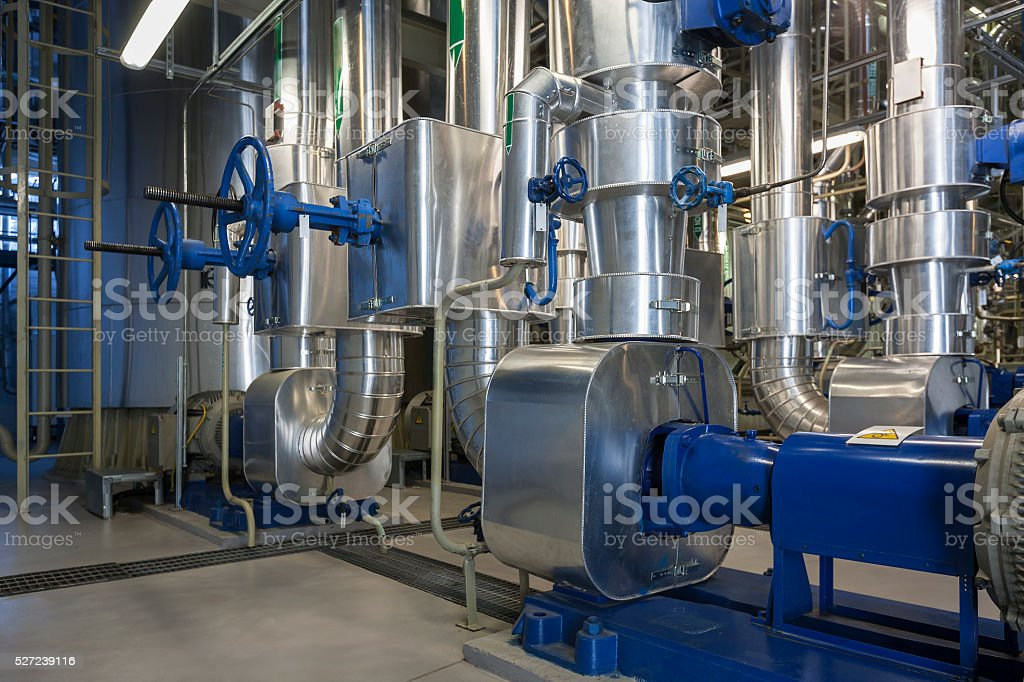 Pump group stock photo