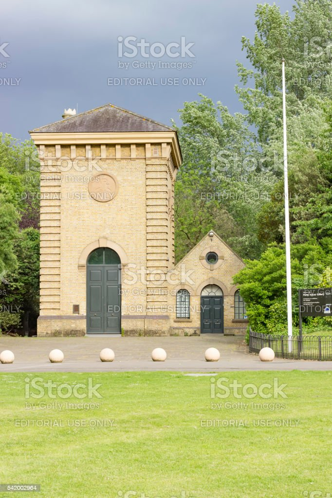 Pump House Gallery in Battersea Park stock photo