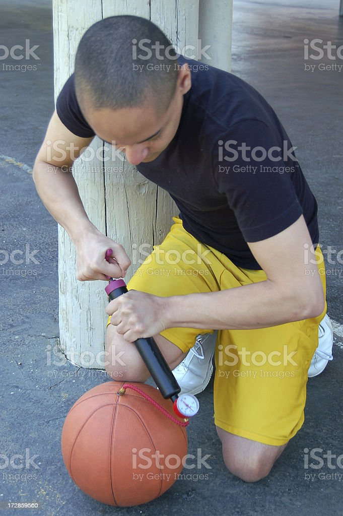 Pump it Up royalty-free stock photo