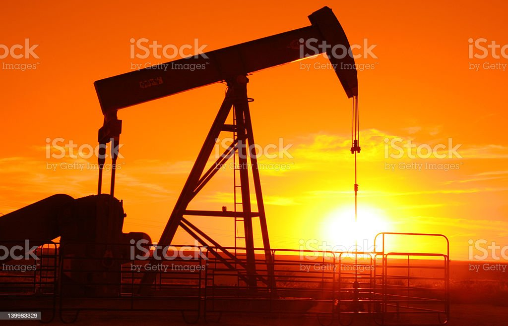 Pump Jack 4 royalty-free stock photo