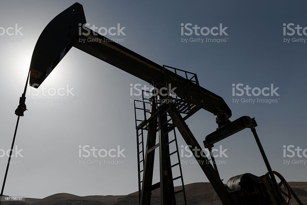 Pump Jack royalty-free stock photo